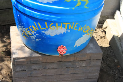 Green Light New Orleans Rain Barrel Program